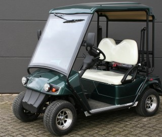 Bs2r Golfkar Met Kenteken Met Golftashouders E Buggy Motive