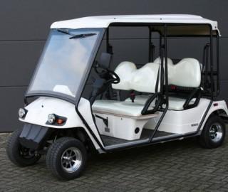 Bs4r Golfkar Met Kenteken Met Golftashouders E Buggy Motive